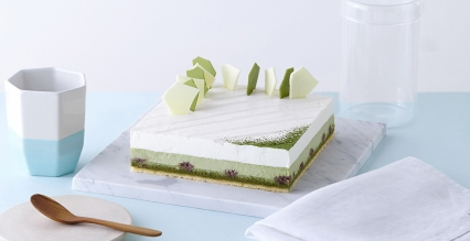 雪域抹茶芝士蛋糕