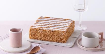 榛子千层拿破仑蛋糕