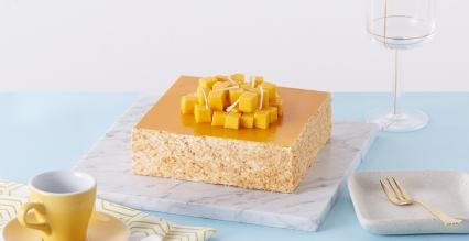 芒果千层拿破仑蛋糕