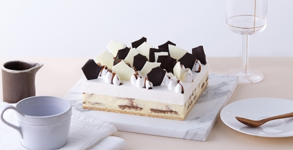 雪域大理石芝士蛋糕