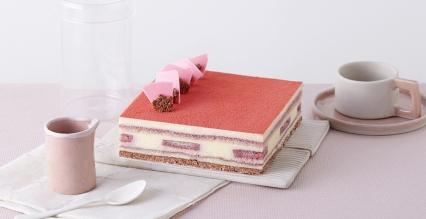 双莓提拉米苏乐脆蛋糕