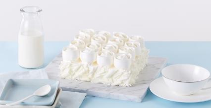 玫瑰雪域芝士蛋糕