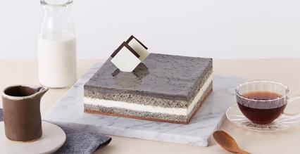 黑白慕斯蛋糕